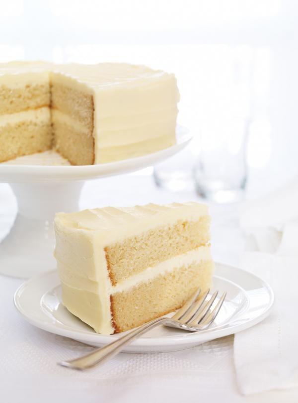 Gâteau à la vanille sans oeufs #ricardo #cake