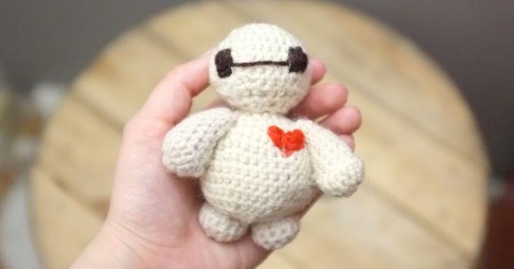 Tuto Crochet : Baymax ! * Amigurumi *