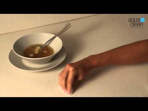 Škvrny od polievky - AquaClean kolekcia - YouTube