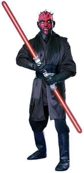 Naamiaisasu; Darth Maul Super Deluxe  Lisensoitu Star Wars Darth Maul Super Deluxe asu. Olkoon Voima Kanssasi. #naamiaismaailma