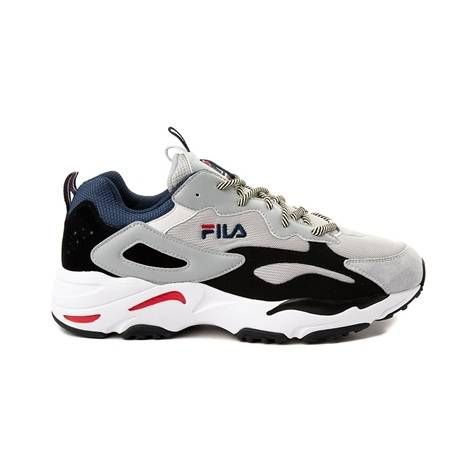 126b386d41fdc7 Mens Fila Ray Tracer Athletic Shoe - Gray - 452041