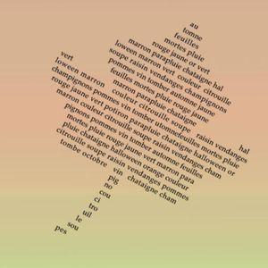 Ecrire un texte dans une forme