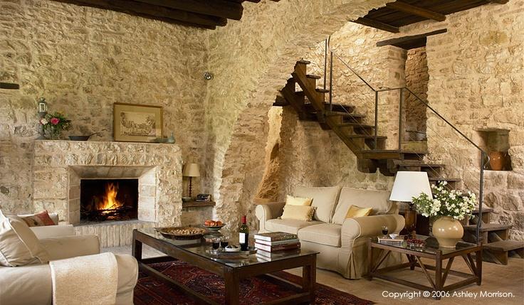 Image detail for -Bachetoni's renovated Italian farmhouse near Spoleto.