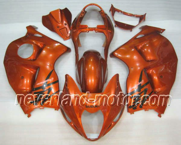 SUZUKI GSX-R 1300 1996-2007 Hayabusa ABS Fairing - Orange #hayabusafairingkit #suzukihayabusafairingkit