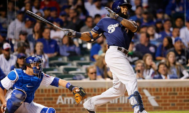 """Eric Thames exits Brewers game with hamstring tightness = Milwaukee Brewers first baseman Eric Thames exited Wednesday's game against the Cincinnati Reds with a tight left hamstring. Manager Craig Counsell said the injury to his slugger is """"not a big deal."""" Thames left in the top of the eighth, but not before going 1-for-3 with 2….."""