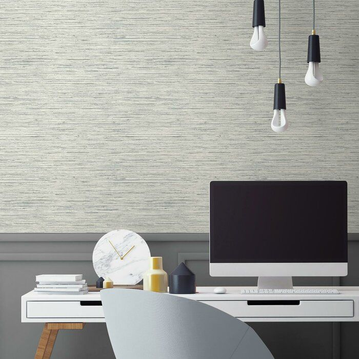 Olguin 16 5 L X 20 5 W Abstract Peel And Stick Wallpaper Roll Peel And Stick Wallpaper Grasscloth Wallpaper Roll