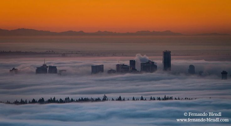 Photo: An amazing foggy Vancouver Morning