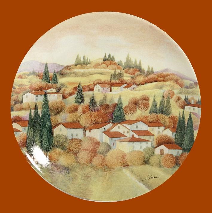 Decorative Plate   Autumn