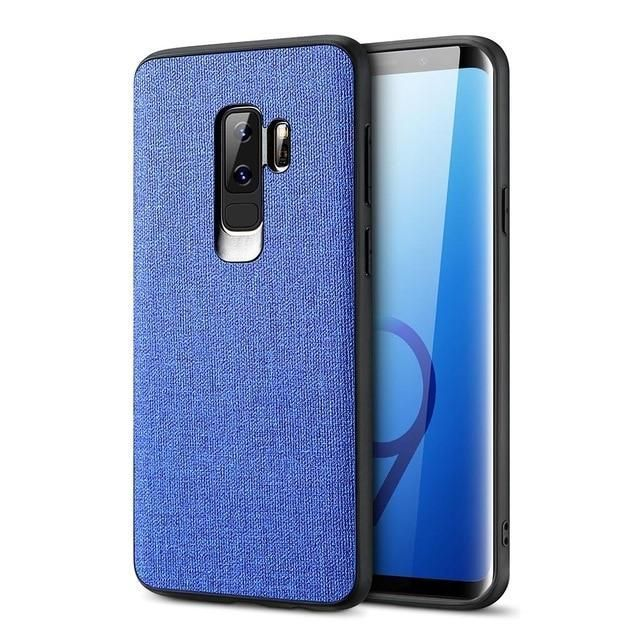Floveme Fabric Leather Case For Samsung Galaxy S8 S9 Plus S7 Edge Luxury Cases For Samsung A7 A6 A8 A9 2018 Note 9 8 Phone Cover