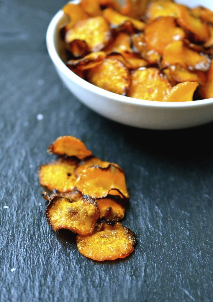 Crispy Spiced Carrot Chips #justeatrealfood #everylastbite