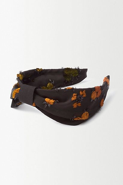 Floral Turban Headband #anthropologie