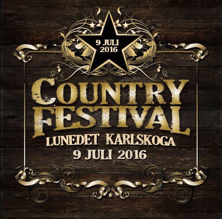 Entrebiljett Countryfestivalen 9 Juli 2016 Pris: 320 kr Inkl bokningsavgifter. via Lunedet Cafe Restaurang Camping. Click on the image to see more!