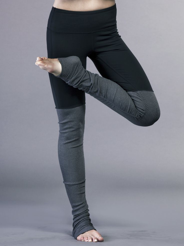 Alo Yoga Goddess Ribbed Legging in Stormy Heather