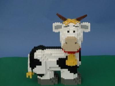 #Creation #Coach #Oliver #Lego #Cow #By    – lego-people