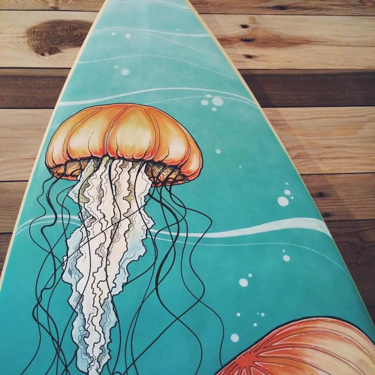 Surfboard Art... A new kind of board for me