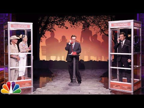 The Tonight Show Starring Jimmy Fallon: Phone Booth with Miley Cyrus