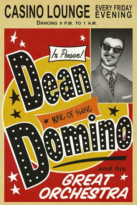 Dean Domino. Fallout New Vegas In game poster