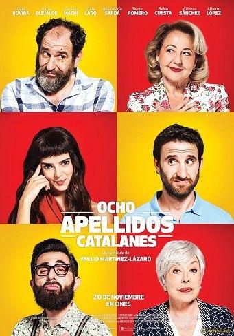 Cartel de 'Ocho apellidos catalanes' - Película