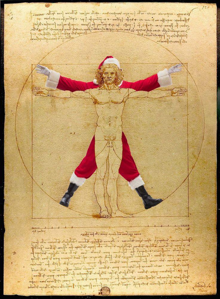 Ünlü-Tablolardaki-Noel-Babalar (12)