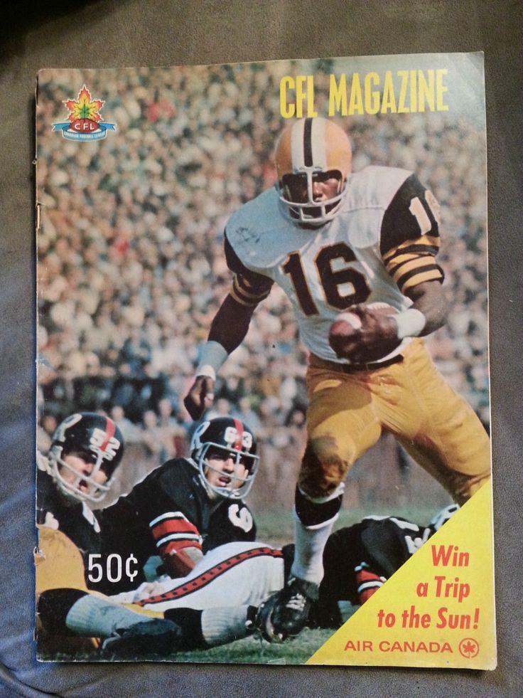 1969 Toronto Argonauts Argos vs Hamilton Tiger Cats CFL Football Program Canada | eBay
