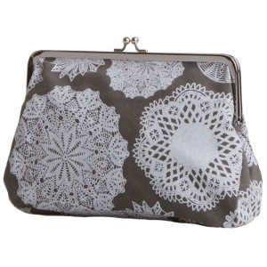 Kiulu purses are made of a German army laundry bags by Globe Hope.