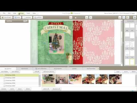 Adding Photos to pages in Heritage Makers