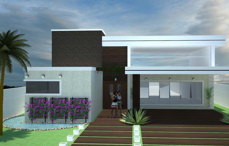 fachadas-de-casas-modernas-sem-telhado-aparente