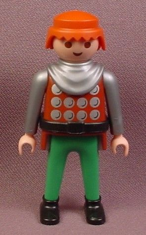 Playmobil Adult Male Knight Figure ($3.00) OOS -- almost all of the Playmobil people could easily be repainted to look more Viking