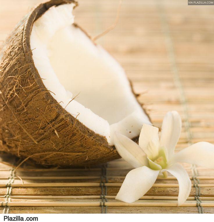 binnenkant kokosnoot