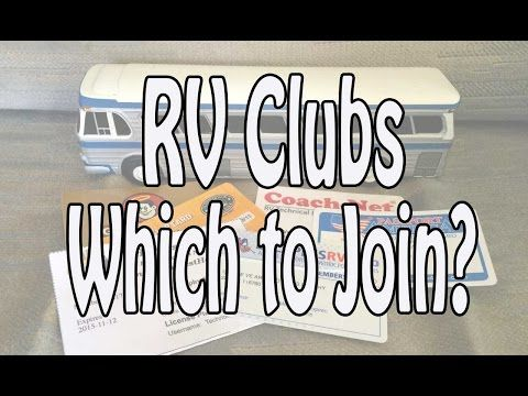 RV Clubs - Which to Join? Passport America, Escapees, FMCA, Good Sam - YouTube