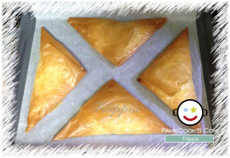 Συνταγή: Τυρόπιτες ατομικές με φύλλο κρούστας! Απο την κουζίνα του χρήστη Filippia στο famecooks.com  #famecooks