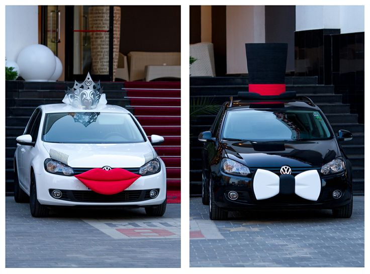 The bride and the groom - Cars Version . ©Silviu Pal