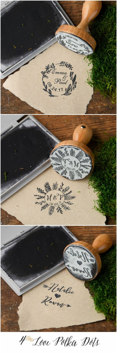 If you're creating your own wedding invites, this stamp is perfect!