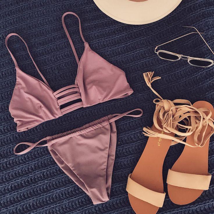 Katrina Bikini Top - Purple Haze
