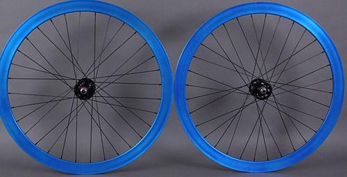 Origin8 LTP 43 Blue Fixed Gear Wheelset Wheels Singlespeed 32 Hole Formula Hubs | eBay