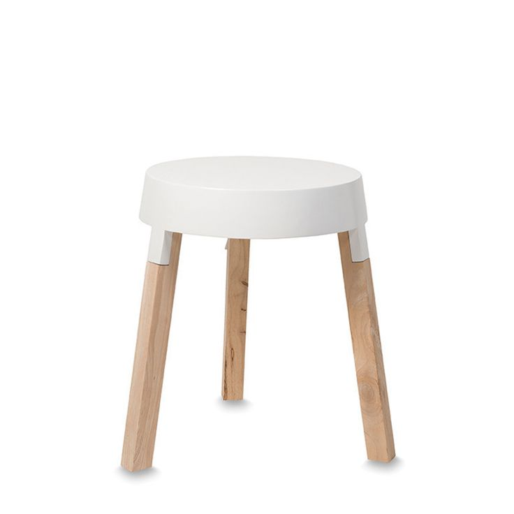 Kasket White Low Table by Citta Design | Citta Design Australia - made from rubber wood and MDF - timber top with lacquer (gloss finish)