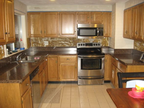 Kitchens Designs With Oak Cabinets