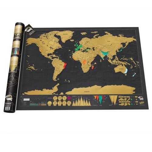 Très Plus de 25 idées uniques dans la catégorie Carte monde à gratter  JK97