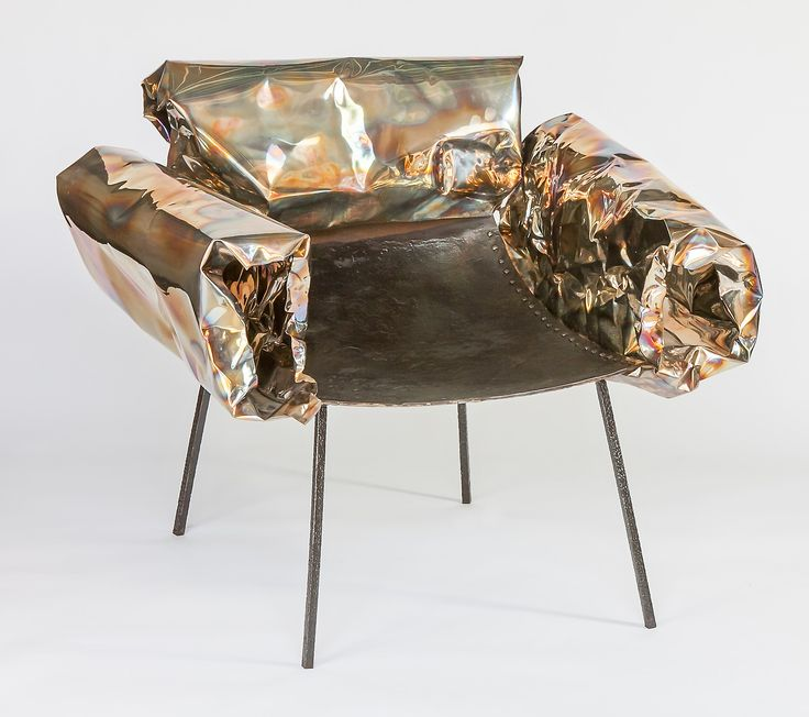 Anadora Lupo metal sculpture - armchair
