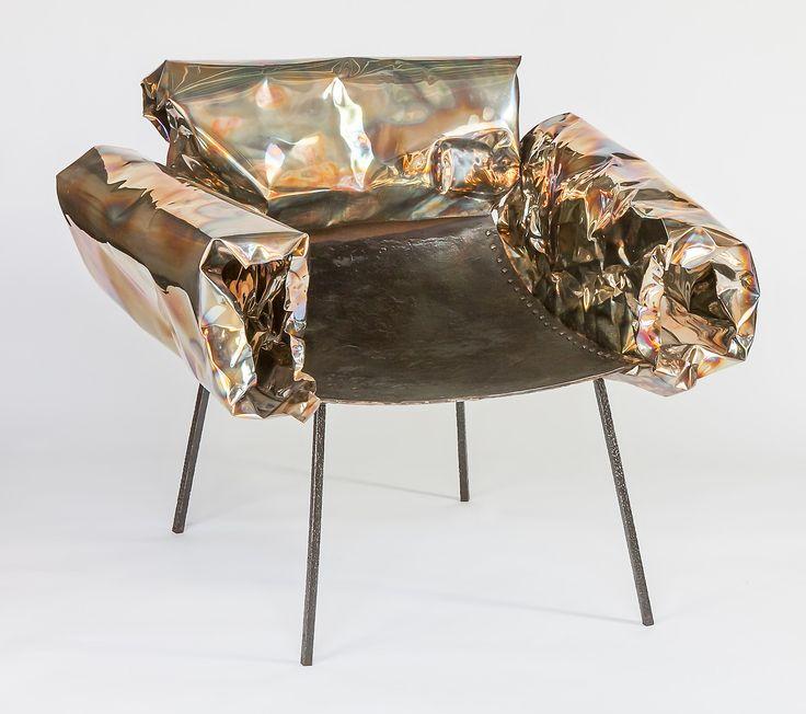 Anadora Lupo metal sculpture - armchair