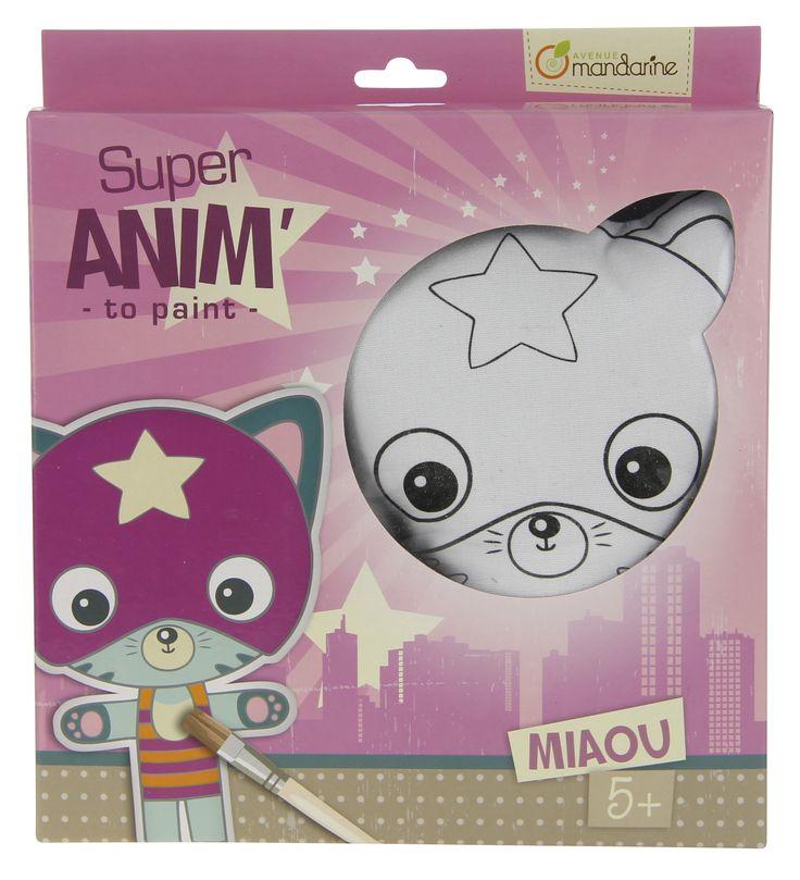 Avenue Mandarine Super Anim Boyama Miaou -  52483