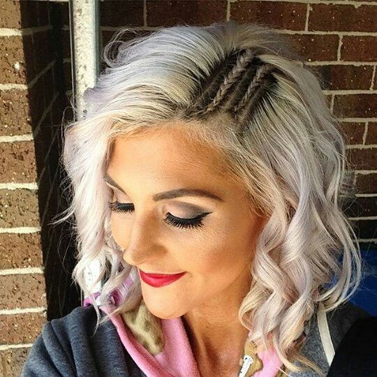 Whether you're heading out on a date or going to the movies with the girls, THIS is how you bring trend-right details to your daily down 'do. These two tight braids will take your normal hairstyle from standard to swoon-worthy in seconds.