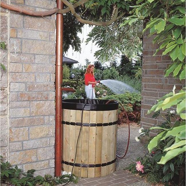 Récupérateur d'eau de pluie 400L Gardena