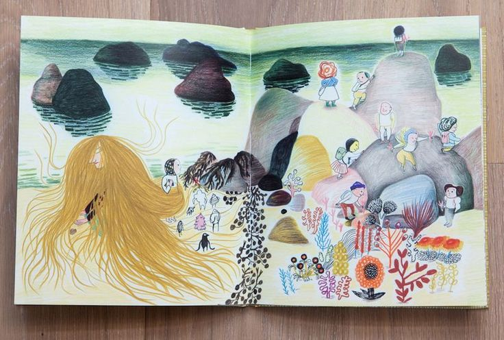 Kitty Crowther Mere Meduse from Olivelse http://www.olivelse.typepad.fr