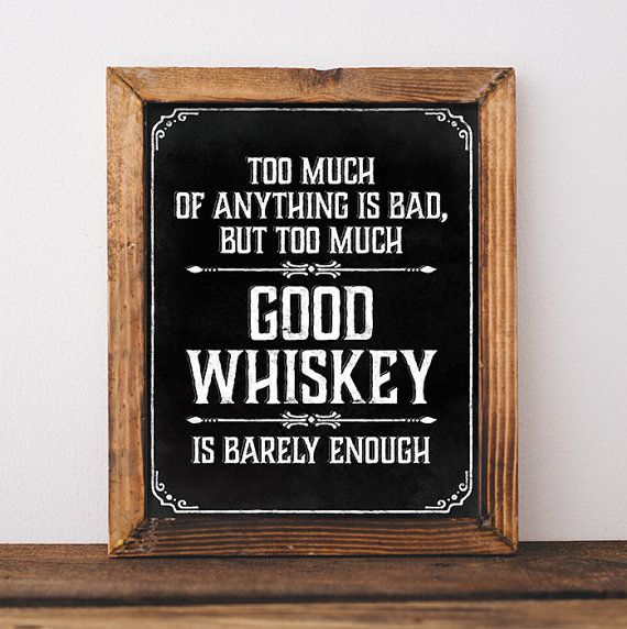 Prohibition party whiskey sign. Printable whiskey by SunnyNotes