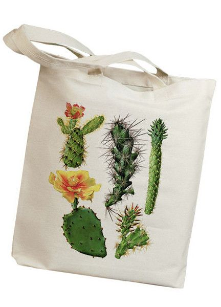 Cacti Tote