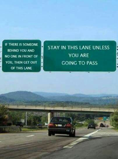 This pic is likely the result of Photoshop but sure wish all highways had it posted!