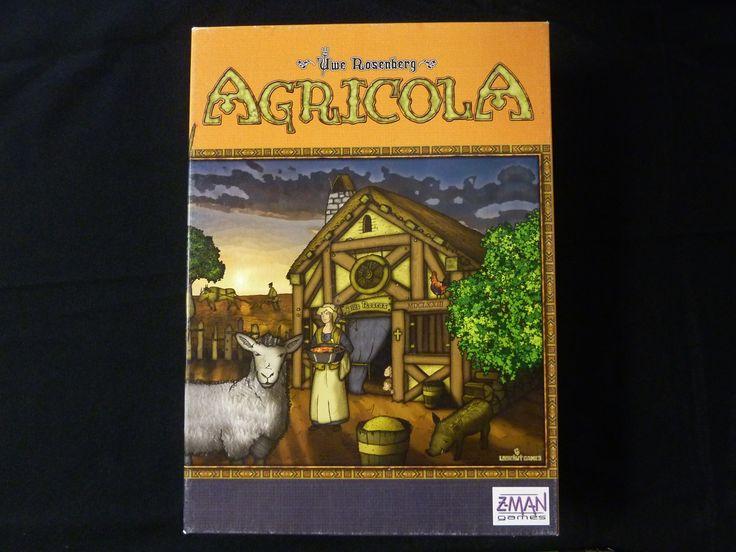 Agricola Board Game www.boardgamebriefs.com/agricola