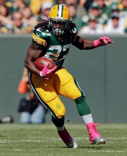 Green Bay Packers' Eddie Lacy