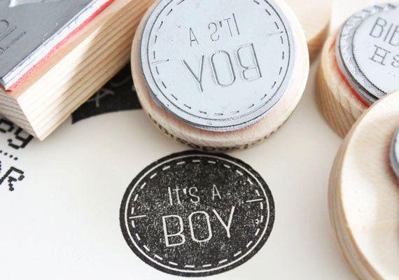 It's a boy stamp